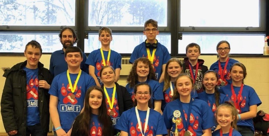 KMS Science Olympiad 4th Place Regionals